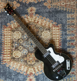 Hofner Ignition Club Bass, Trans Black