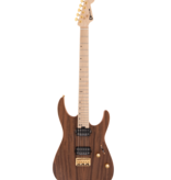 Charvel Charvel Pro-Mod DK24 HH HT M Mahogany with Figured Walnut, Maple Fingerboard, Natural