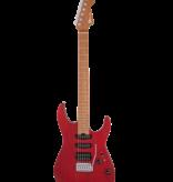 Charvel Charvel Pro-Mod DK24 HSS 2PT CM Ash, Caramelized Maple Fingerboard, Red Ash