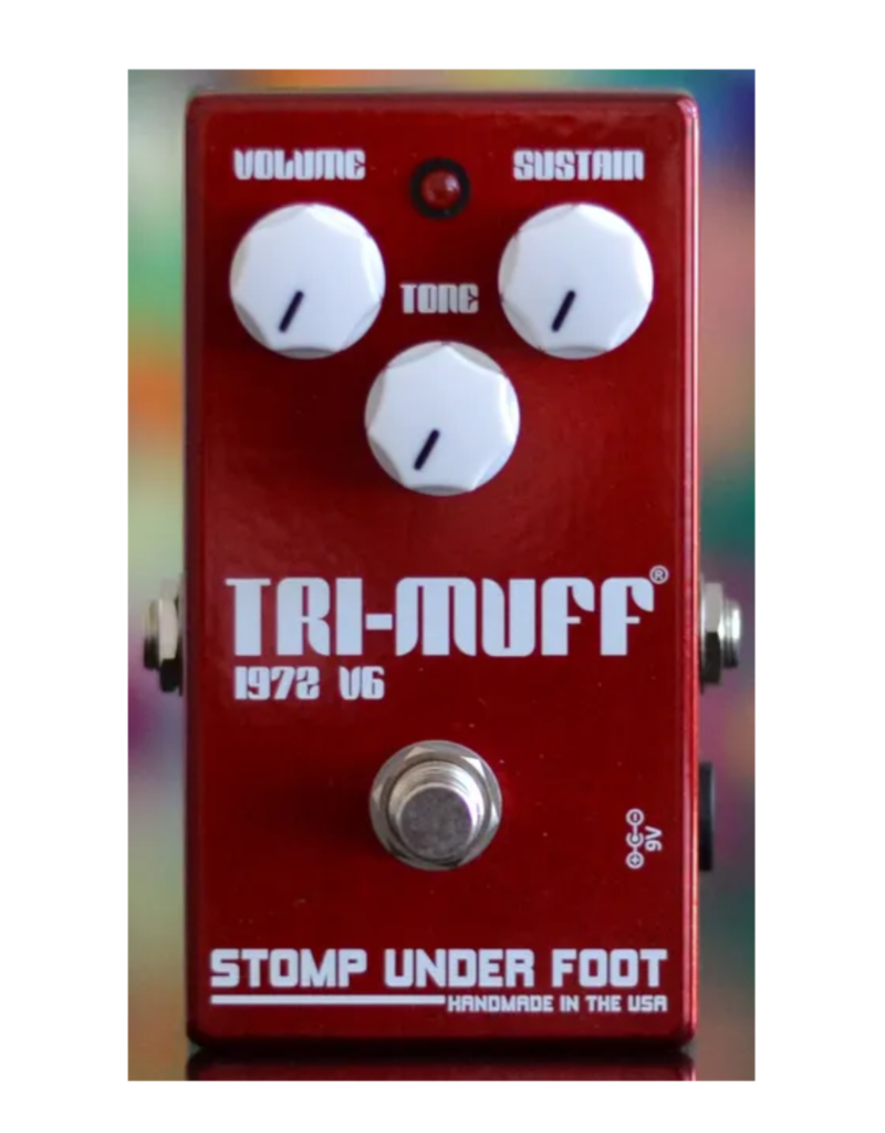 Stomp Under Foot Stomp Under Foot Tri-Muff Pedal