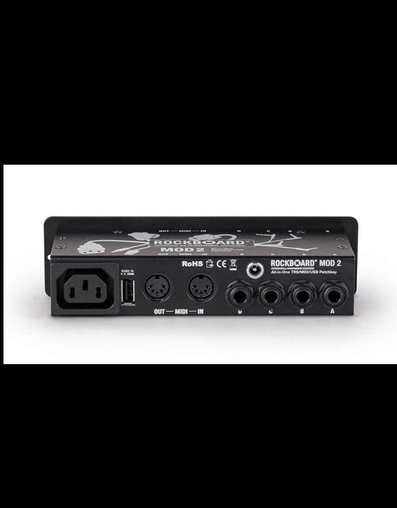RockBoard RockBoard Mod 2 V2  All-in-One TRS, Midi & USB Patchbay