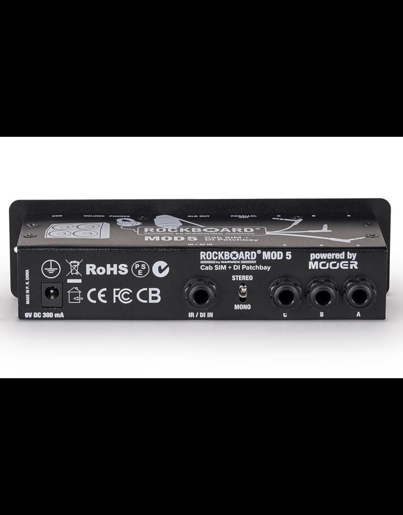 RockBoard RockBoard MOD 5 DI+Speaker Simulator Patch Bay