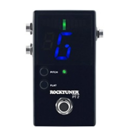 RockBoard RockBoard PT 2 Pedal Tuner, Chromatic, LED, True Bypass, Calibration, Black