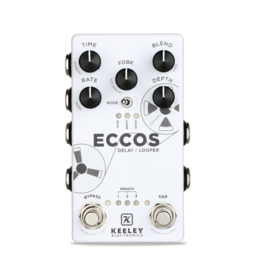 Keeley Keeley ECCOS Delay Looper Effects Pedal