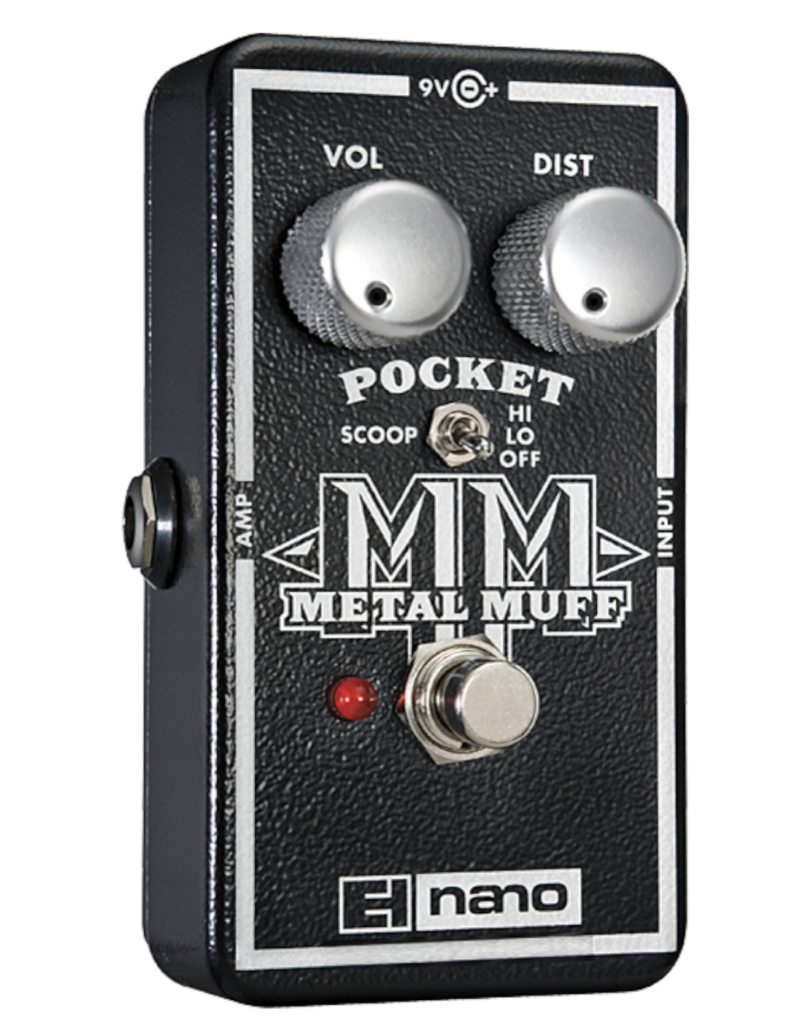 Electro-Harmonix Electro-Harmonix Nano Pocket Metal Muff Distortion with Mid Scoop
