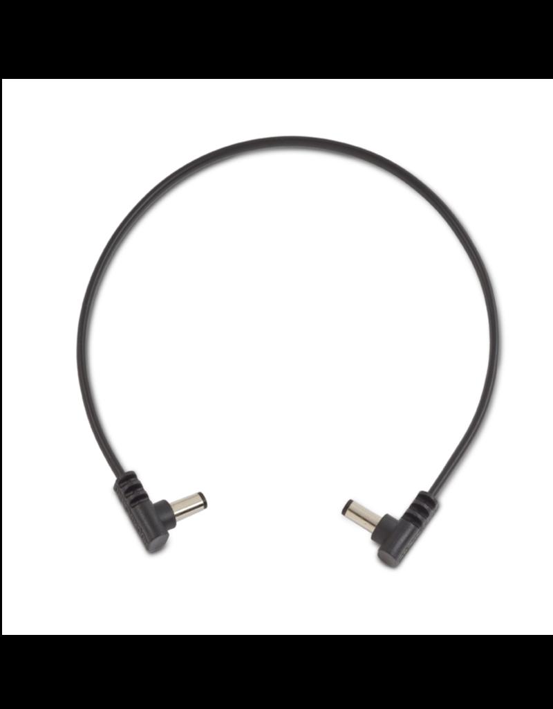 "RockBoard RockBoard Flat Power Cable, 30 cm / 11 13/16"", angled/angled"