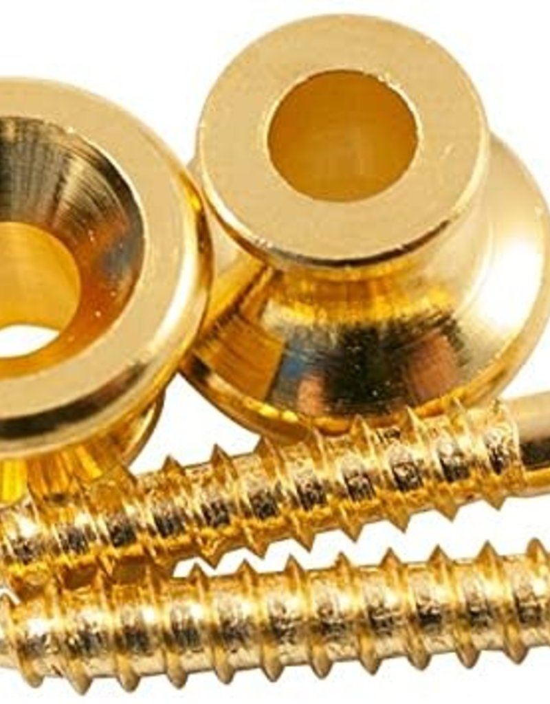 Allparts Allparts AP-6695-002 Gibson Style Strap Buttons Gold