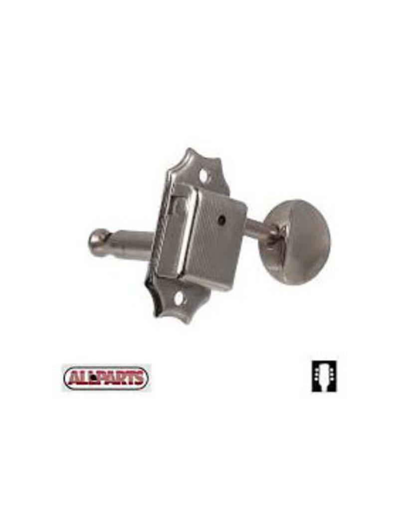 Allparts Allparts Vintage Style 3x3 keys nickel
