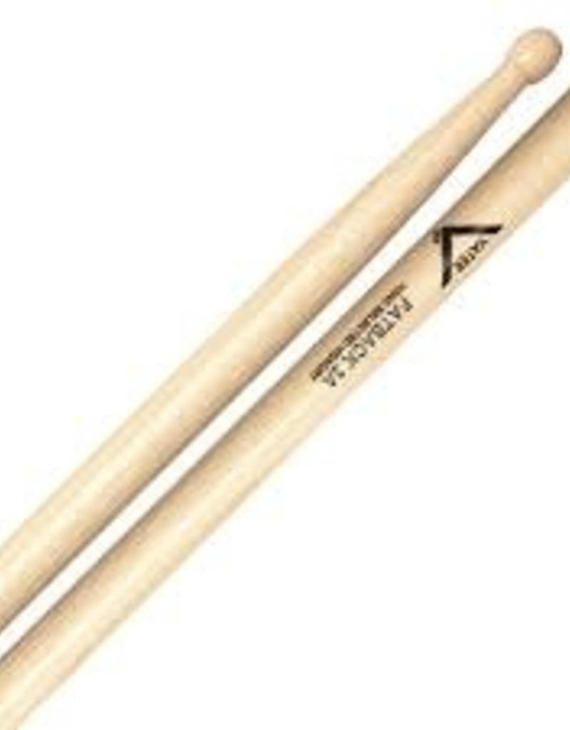 Vater Hickory Fat Back 3A Wood Tip Drum Sticks