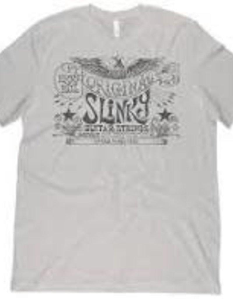 Ernie Ball Ernie Ball Original Slinky (Brown Logo) XL T-Shirt