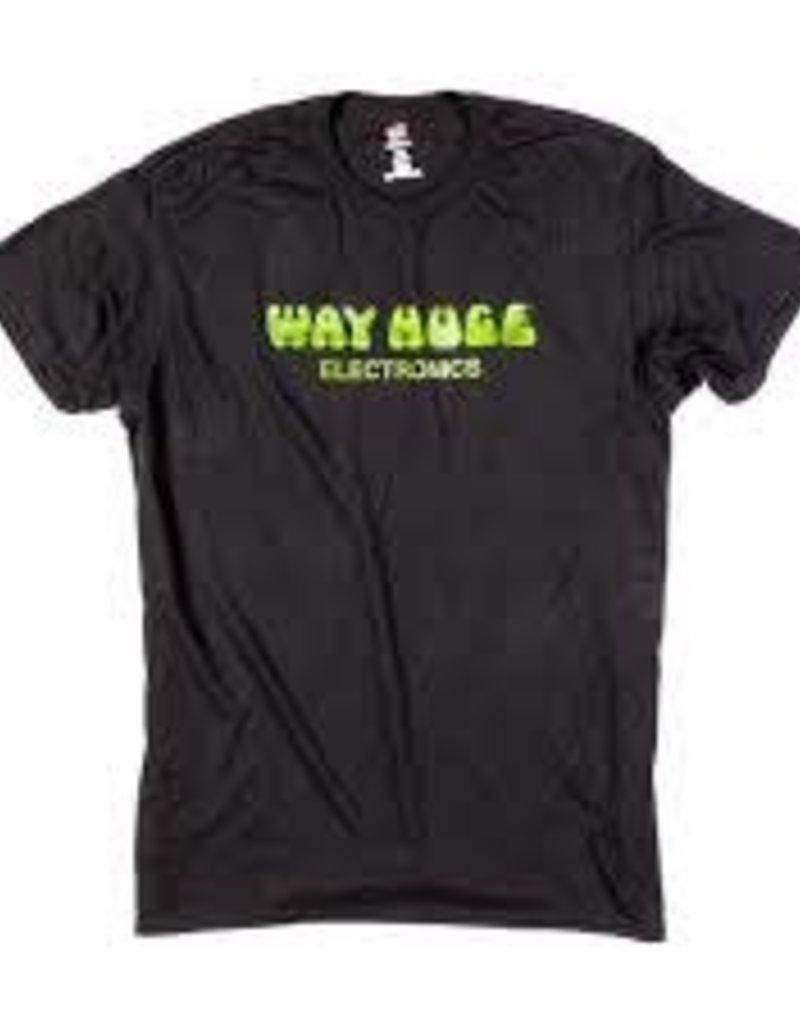 Way Huge Electronics T Shirt Extra Large Green Logo