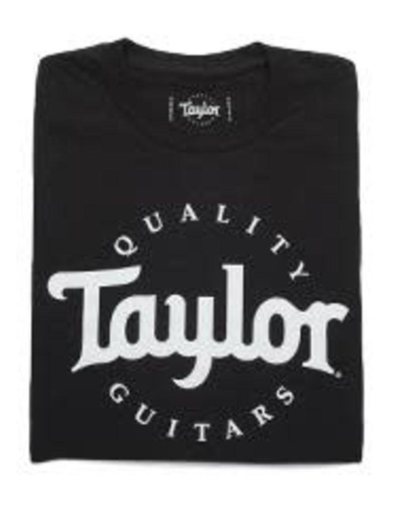 Taylor Taylor 15850 Taylor Guitars T-Shirt, Black, Large