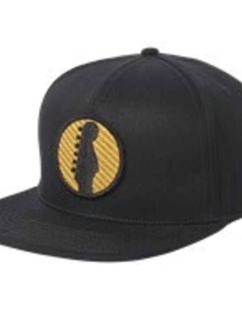 Fender Fender® Headstock Twill Snapback Hat, Black