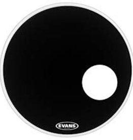 """Evans Evans 22"""" EQ3 Resonant Black Bass Head BD22RB"""