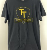 Tone Tailors Main Logo Black / Yellow Shirt (L)