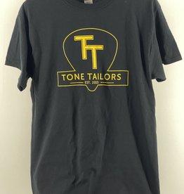 Tone Tailors Main Logo Black / Yellow Shirt (L)
