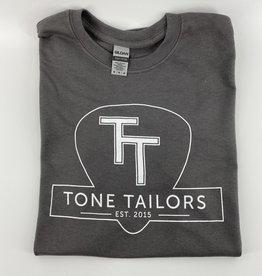 Tone Tailors Main Logo Gray / White Shirt (L)
