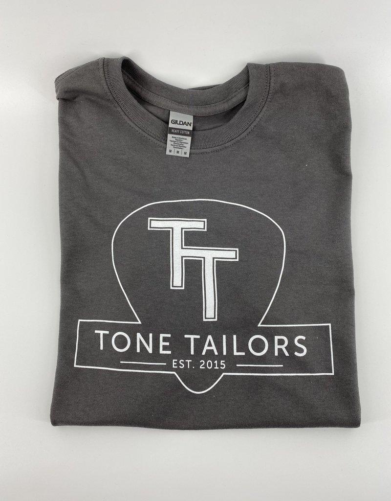 Tone Tailors Main Logo Gray / White Shirt (XL)