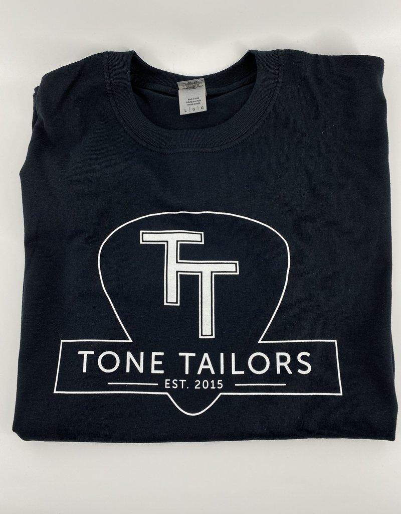 Tone Tailors Main Logo Black / White Shirt (L)