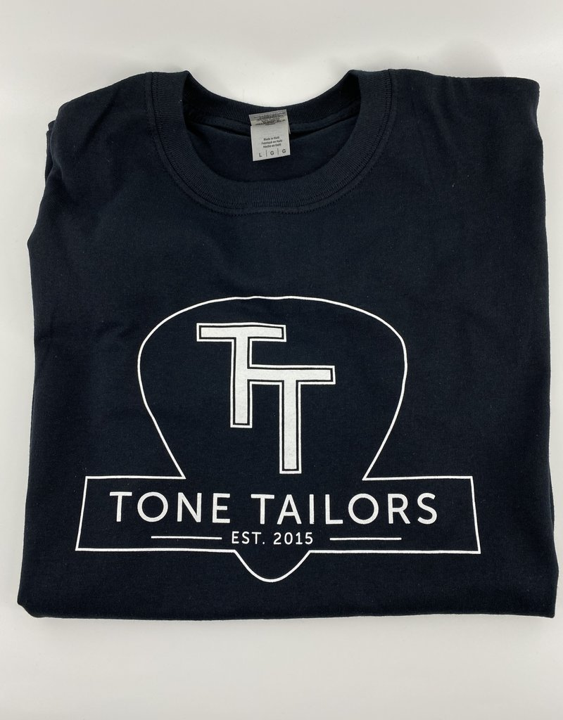 Tone Tailors Main Logo Black / White Shirt (XXL)