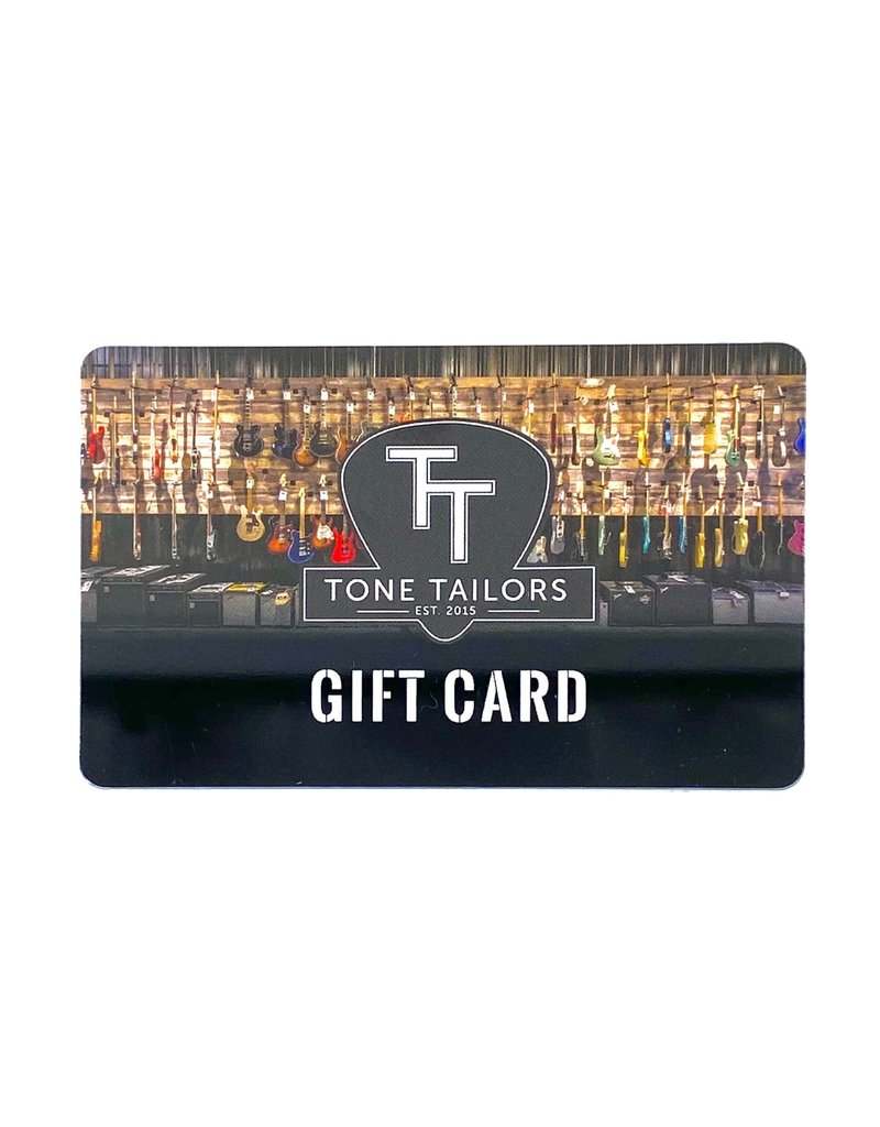 Tone Tailors Gift Card $25