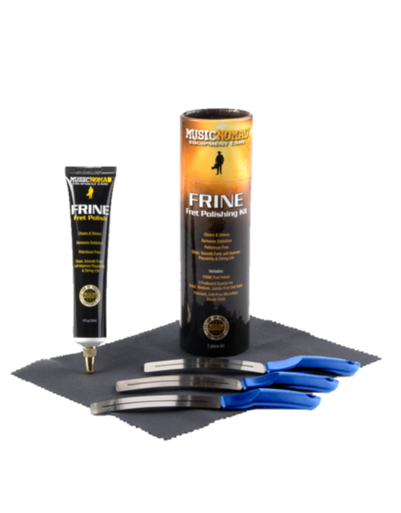 MusicNomad MusicNomad FRINE Fret Polishing Kit - 5 pc.