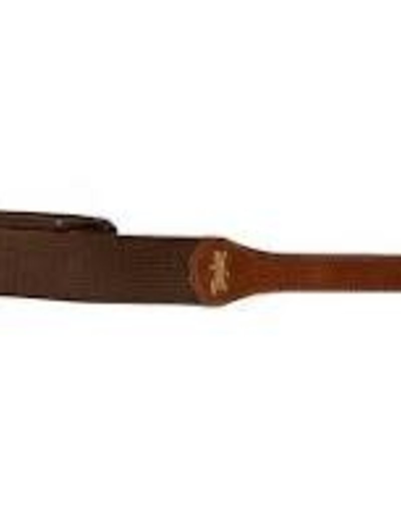 Taylor Taylor GS Mini Series Chocolate Brown Cotton Guitar Strap, 2""