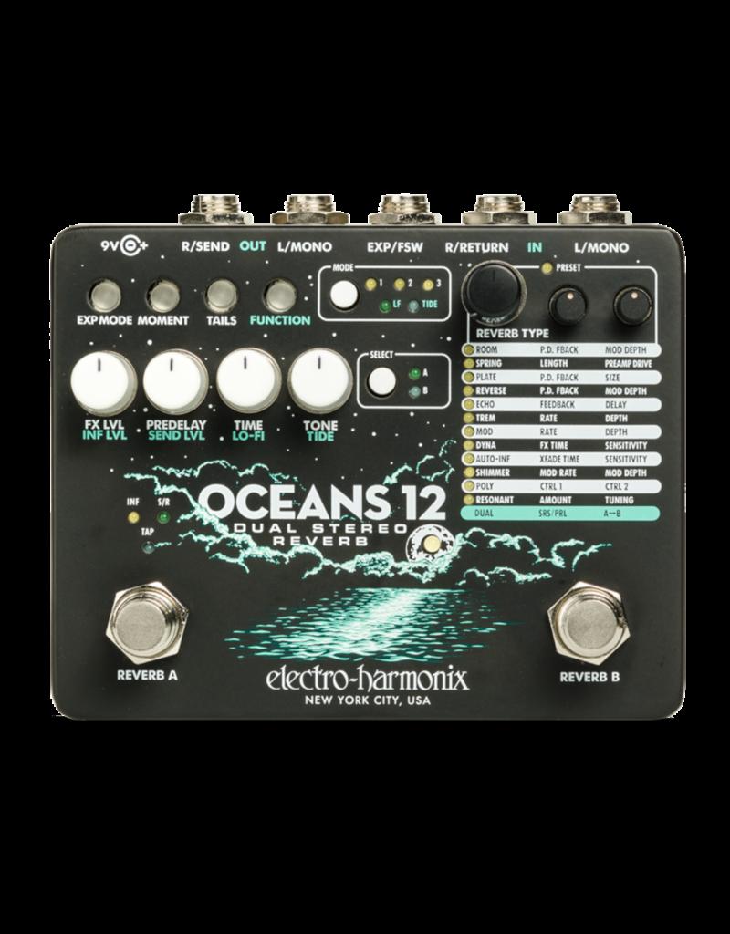 Electro-Harmonix EHX Oceans 12 Dual Stereo Reverb