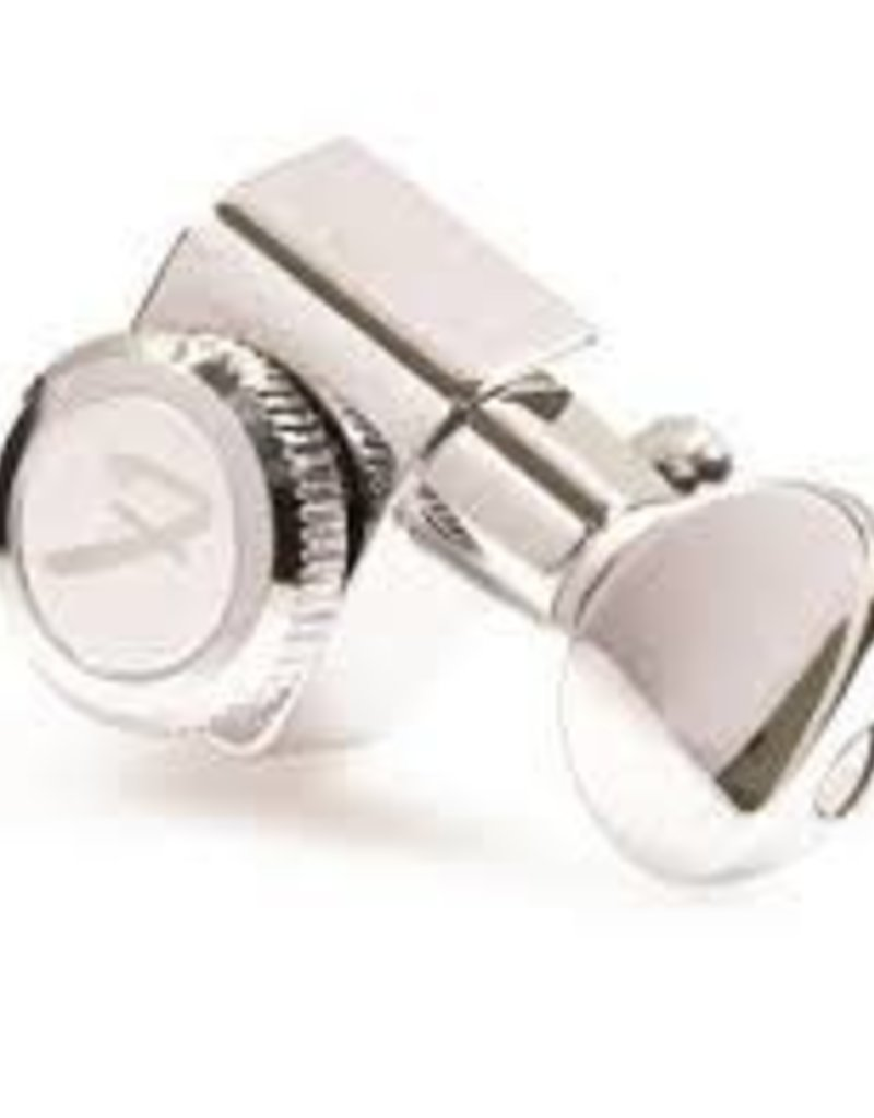 Fender Fender Locking Tuners with Vintage-Style Buttons, Polished Chrome