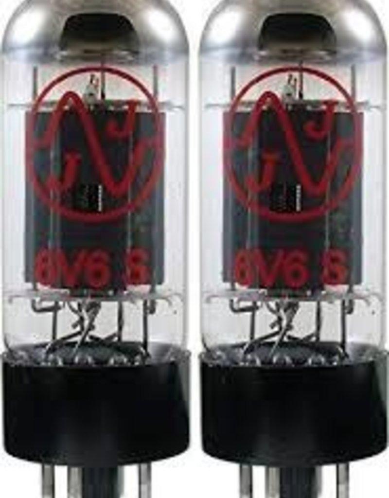JJ 6V6 Matched Pair Tubes