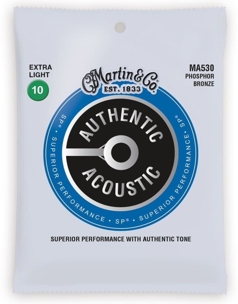 Martin Martin Authentic Acoustic MA530 - 92/8 Phosphor Bronze Extra Light