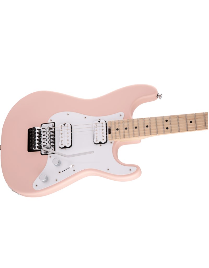 Charvel Charvel Pro-Mod So-Cal Style 1 HH FR M, Maple Fingerboard, Satin Shell Pink
