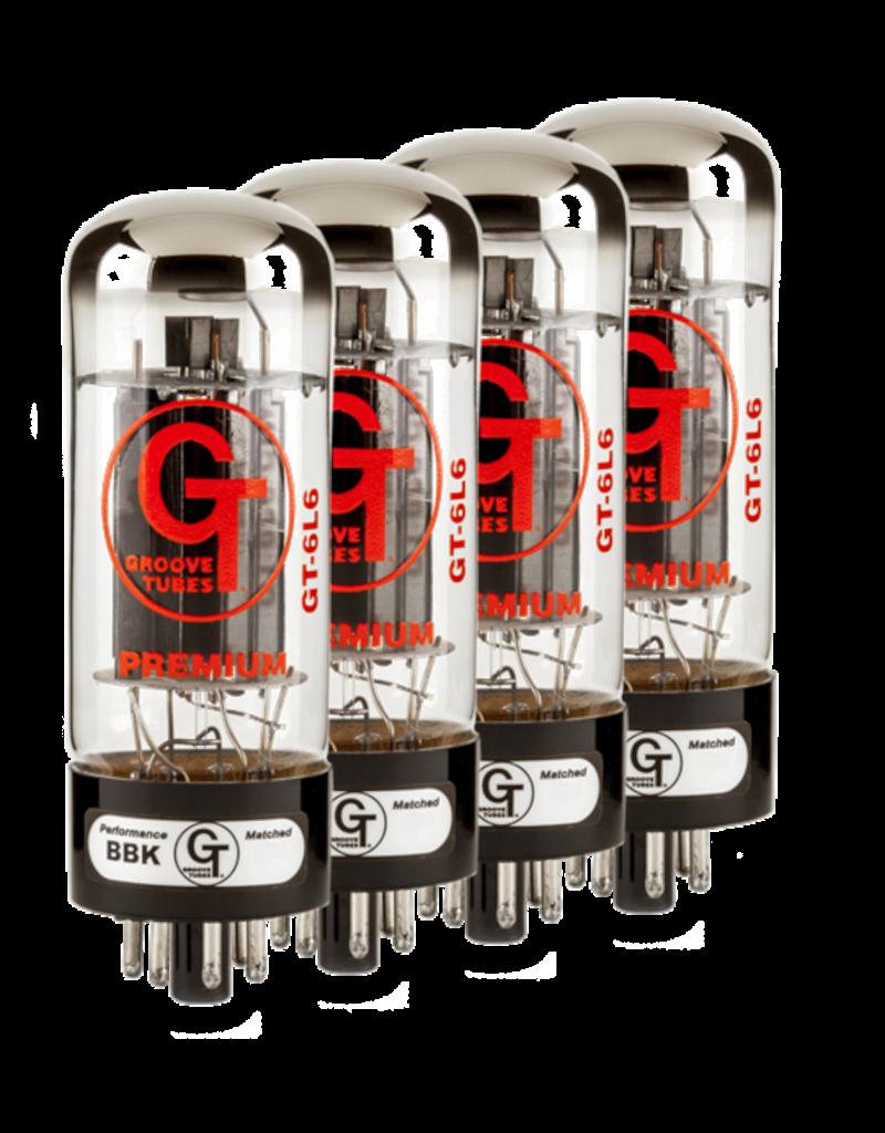 Groove Tubes® GT-6L6-R Medium Quartet (4)
