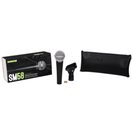 Shure Shure SM58S Dynamic Mic w/switch