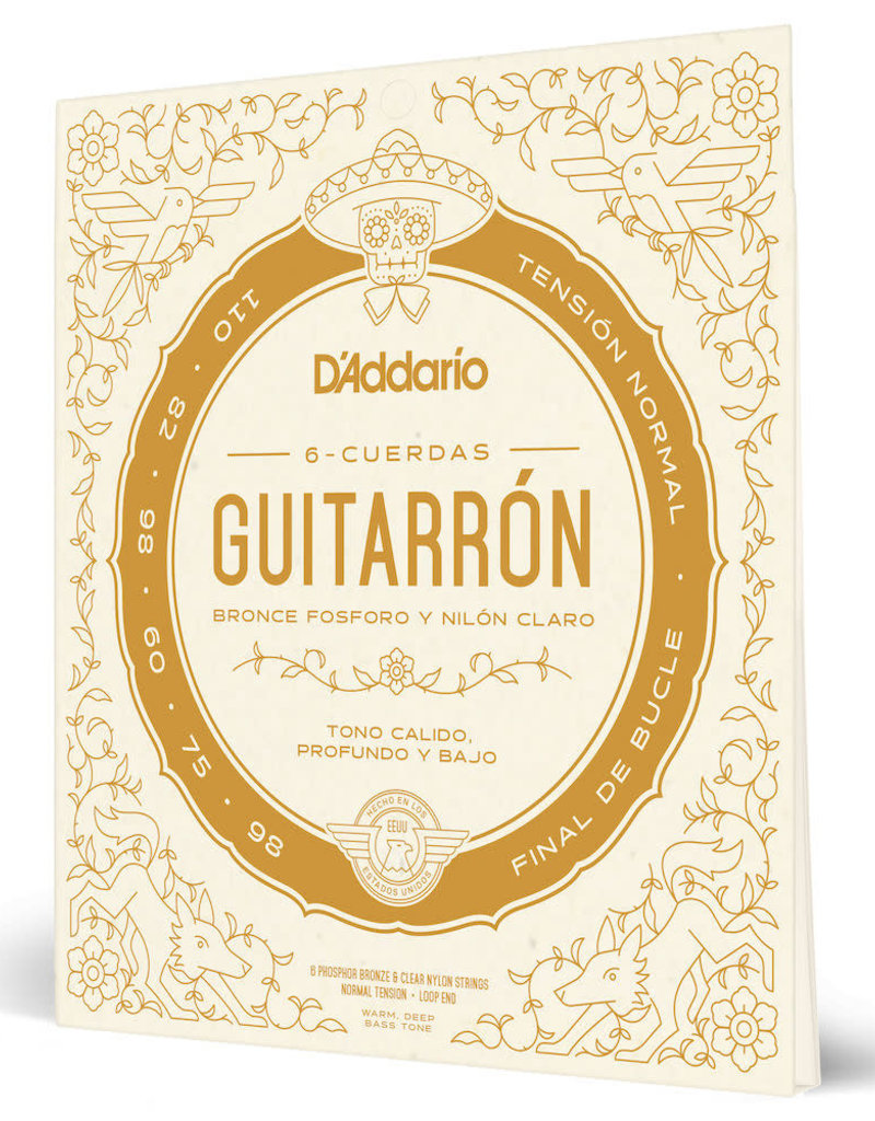 D'Addario D'Addario MG10N Guitarrón Normal Tension Strings
