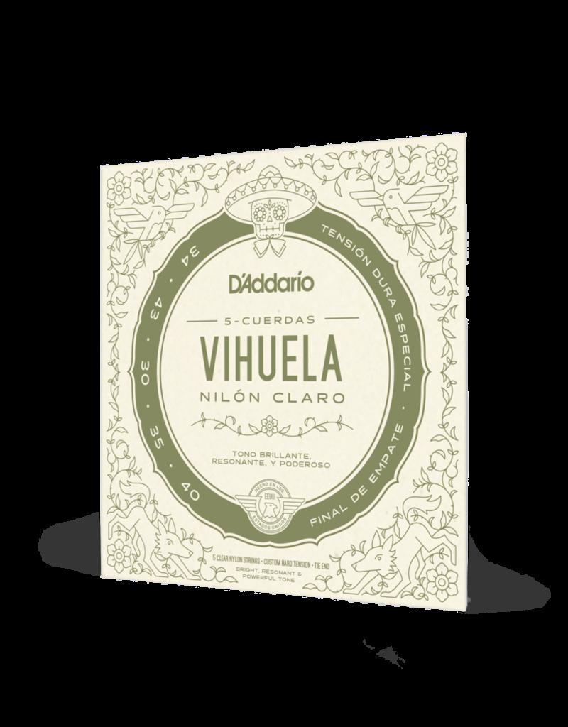 D'Addario D'Addario MV10C Vihuela Custom Hard Tension Strings