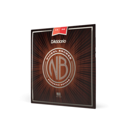 D'Addario D'Addario NB1356 Nickel Bronze Acoustic Guitar Strings, Medium, 13-56