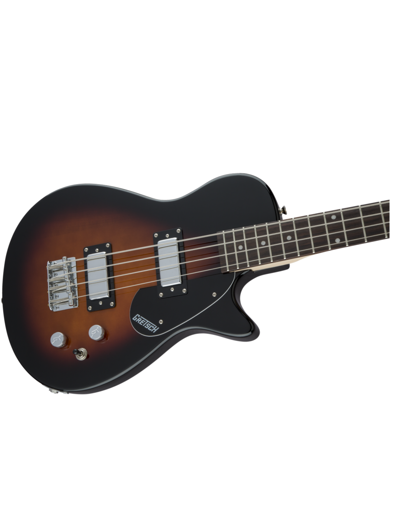 Gretsch Gretsch G2220 Electromatic® Junior Jet™ Bass II Short-Scale, Black Walnut Fingerboard, Tobacco Sunburst