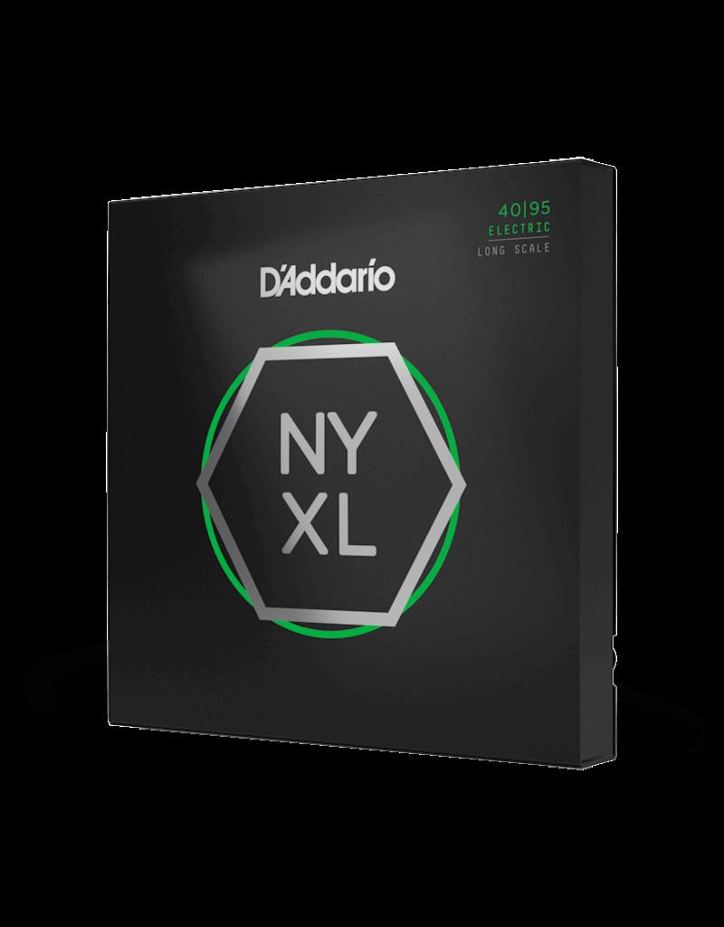 D'Addario D'Addario NYXL4095 Nickel Wound Bass Guitar Strings, Super Light, 40-95, Long Scale