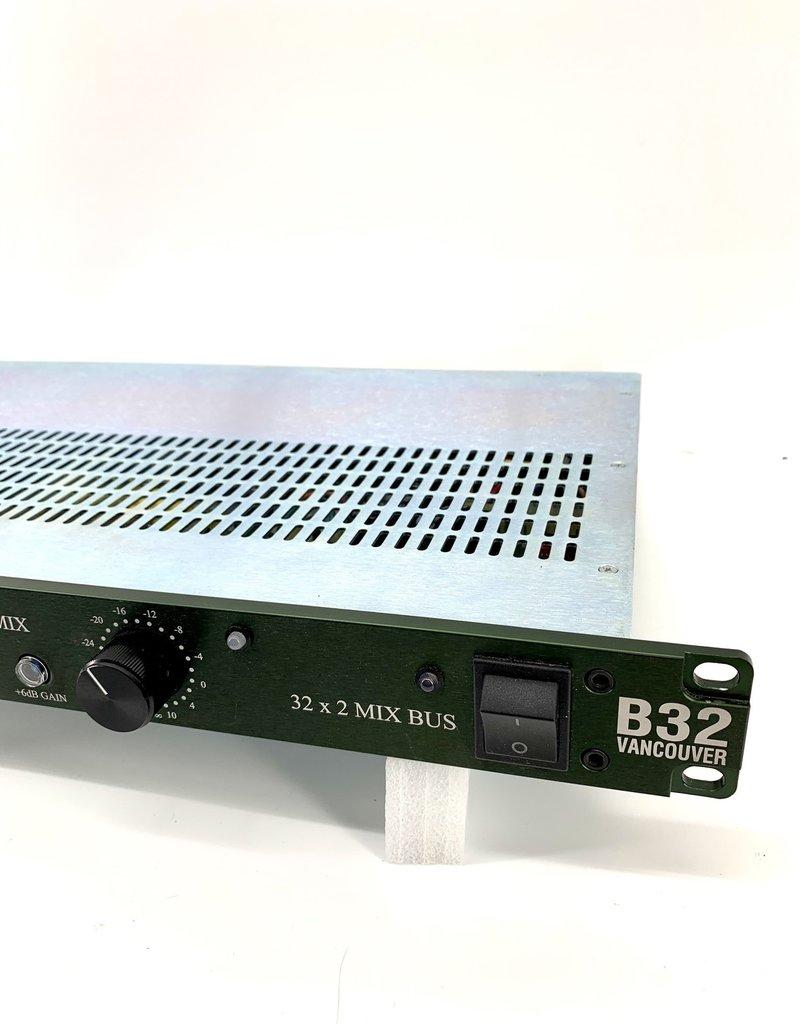 Burl Used Burl B32 VANCOUVER 32 x 2 Mix Bus