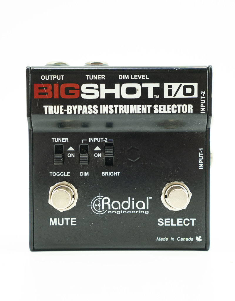 Radial Used Radial Bigshot i/O True-Bypass Selector Switch