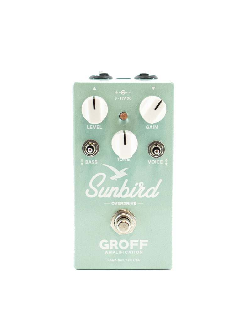 Used Groff Sunbird Overdrive Pedal
