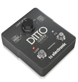 TC Electronic TC Electronic Ditto X2 Highly Intuitive Looper Pedal with Dedicated Stop Button and Loop Effects