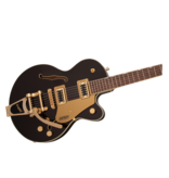 Gretsch Gretsch G5655TG Electromatic® Center Block Jr. Single-Cut with Bigsby® and Gold Hardware, Laurel Fingerboard, Black Gold