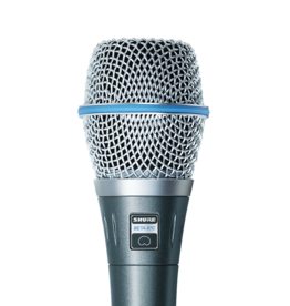 Shure Shure BETA87C Cardioid Condenser Microphone for Handheld Vocal Applications, Gray