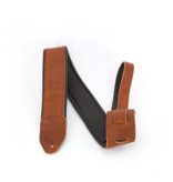 Martin Martin Embossed Garment Leather Strap Brown