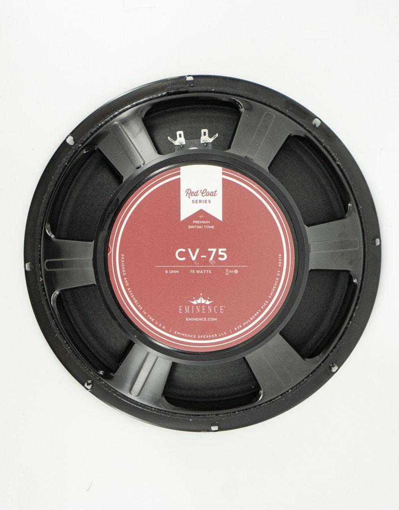 "Used Eminence CV-75 Redcoat Series 12"" 75-Watt 8 ohm"