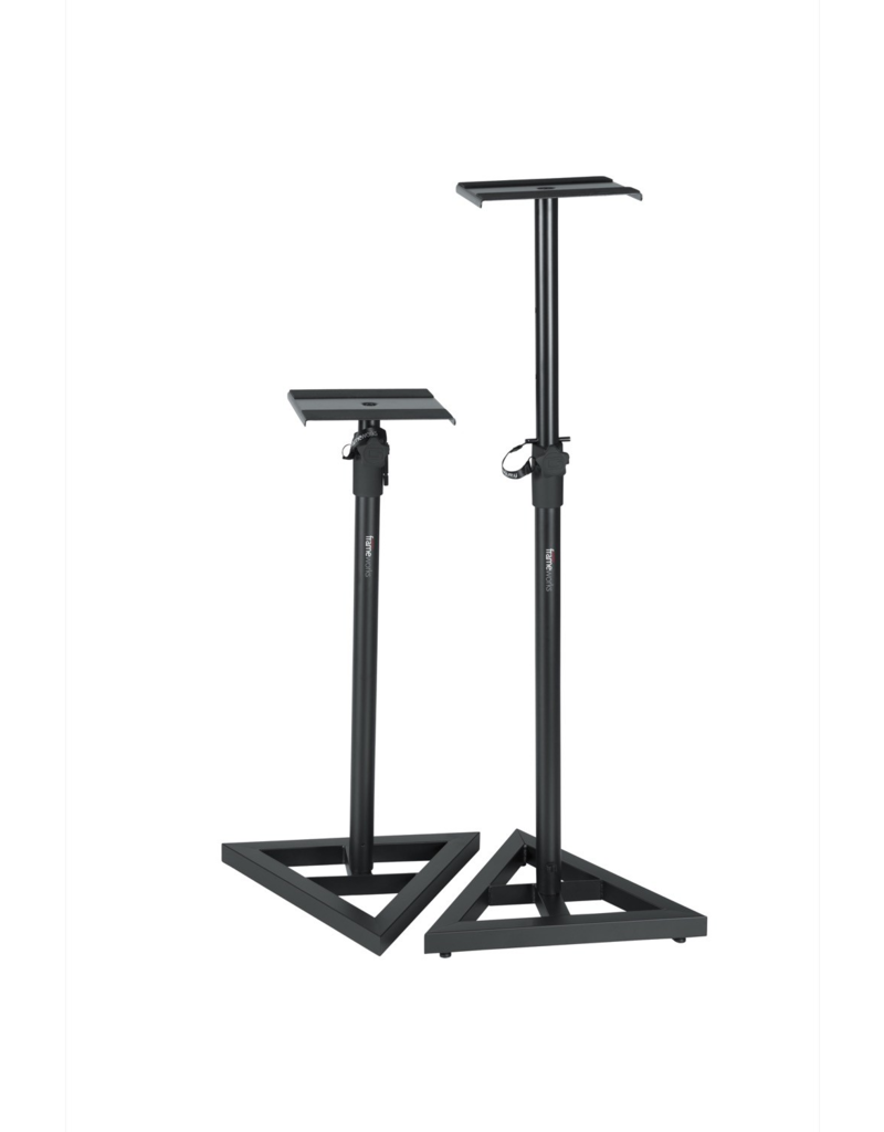 Gator Gator Frameworks adjustable studio monitor stands (pair)