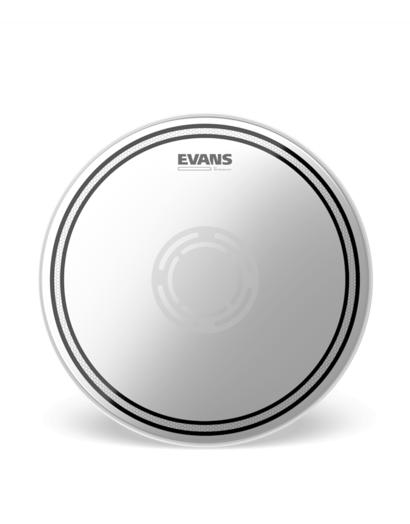 "Evans Evans EC REVERSE DOT 14"" Frosted Drumhead"