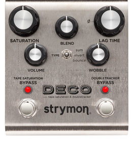 Strymon Strymon Deco Tape Saturation and Doubletracker Delay Pedal